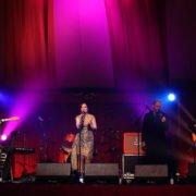 Julie Fowlis performing at the Worldwide Press Junket, Prestonfield House, Edinburgh, June 1st